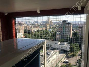 shkaf na balkone pod konditsioner2 387x291 - Фото остекления одного балкона № 28