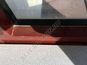 shkaf na balkone pod konditsioner4 387x291 - Фото остекления одного балкона № 28