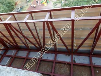 ukreplenie balkona s vynosom i falshkrovlja17 387x291 - Фото остекления одного балкона № 30