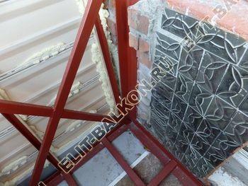 ukreplenie balkona s vynosom i falshkrovlja19 387x291 - Фото остекления одного балкона № 30