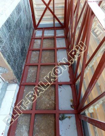 ukreplenie balkona s vynosom i falshkrovlja20 387x291 - Фото остекления одного балкона № 30
