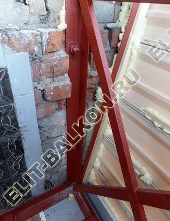 ukreplenie balkona s vynosom i falshkrovlja21 387x291 - Фото остекления одного балкона № 30
