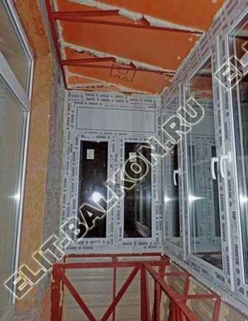ukreplenie balkona s vynosom i falshkrovlja22 387x291 - Фото остекления одного балкона № 30