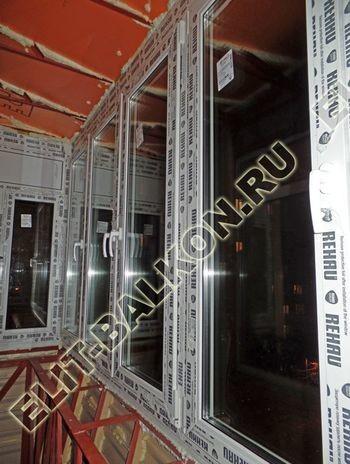 ukreplenie balkona s vynosom i falshkrovlja27 387x291 - Фото остекления одного балкона № 30