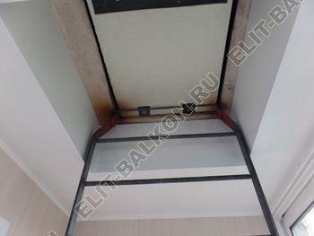 osteklenie lodzhii slajdors s otdelkoj i sohraneniem pozharnoj lestnitsy23 387x291 - Фото остекления одного балкона № 35