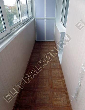 osteklenie lodzhii slajdors s otdelkoj i sohraneniem pozharnoj lestnitsy28 387x291 - Фото остекления одного балкона № 35