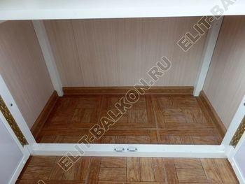osteklenie lodzhii slajdors s otdelkoj i sohraneniem pozharnoj lestnitsy38 387x291 - Фото остекления одного балкона № 35
