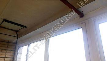 osteklenie lodzhii slajdors s otdelkoj i sohraneniem pozharnoj lestnitsy8 387x291 - Фото остекления одного балкона № 35