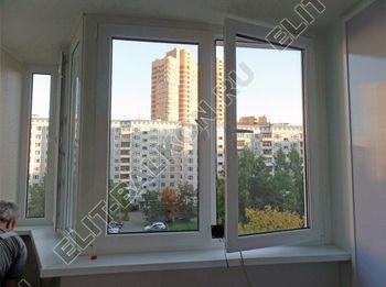 Фото остекления одного балкона № 33