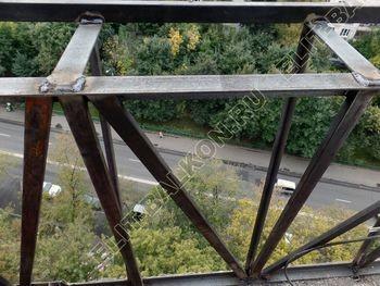 osteklenie otdelka balkona PVH s kryshej 24 387x291 - Фото остекления одного балкона № 34