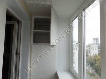 osteklenie otdelka balkona PVH s kryshej 48 387x291 - Фото остекления одного балкона № 34