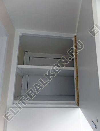 osteklenie otdelka balkona PVH s kryshej 50 387x291 - Фото остекления одного балкона № 34