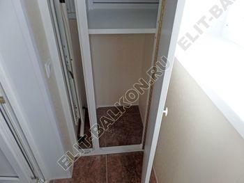 Фото остекления одного балкона № 34