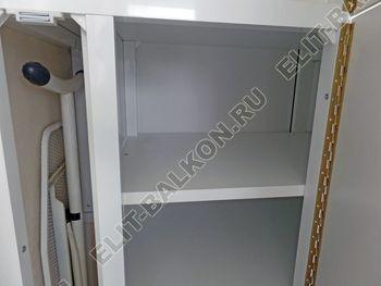 osteklenie otdelka balkona PVH s kryshej 53 387x291 - Фото остекления одного балкона № 34