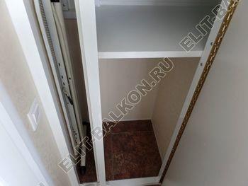 osteklenie otdelka balkona PVH s kryshej 54 387x291 - Фото остекления одного балкона № 34