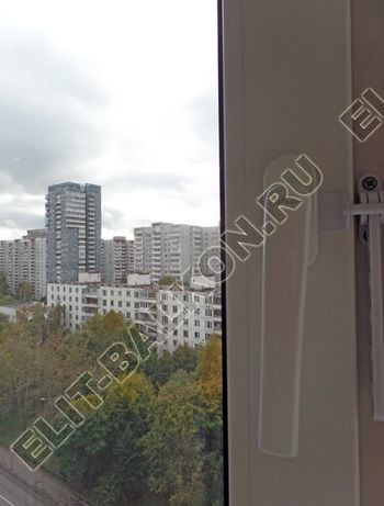 osteklenie otdelka balkona PVH s kryshej 59 387x291 - Фото остекления одного балкона № 34