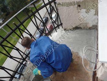 ukreplenie balkonnoj plity gidroizoljatsija ukladka plitki10 387x291 - Фото остекления окон № 38