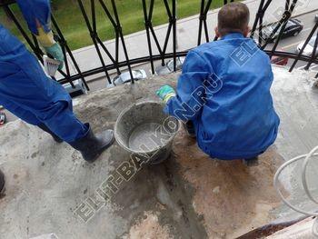 ukreplenie balkonnoj plity gidroizoljatsija ukladka plitki11 387x291 - Фото остекления окон № 38