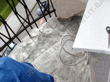 ukreplenie balkonnoj plity gidroizoljatsija ukladka plitki13 387x291 - Фото остекления окон № 38