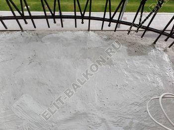 ukreplenie balkonnoj plity gidroizoljatsija ukladka plitki18 387x291 - Фото остекления окон № 38