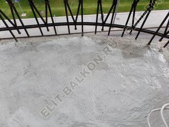 ukreplenie balkonnoj plity gidroizoljatsija ukladka plitki20 387x291 - Фото остекления окон № 38
