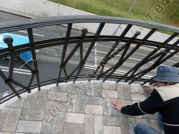 ukreplenie balkonnoj plity gidroizoljatsija ukladka plitki23 387x291 - Фото остекления окон № 38