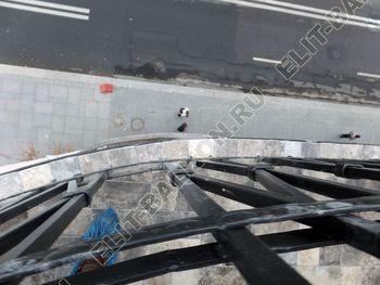 ukreplenie balkonnoj plity gidroizoljatsija ukladka plitki30 387x291 - Фото остекления окон № 38