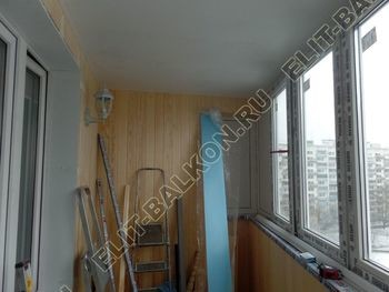 Фото остекления балкона № 42