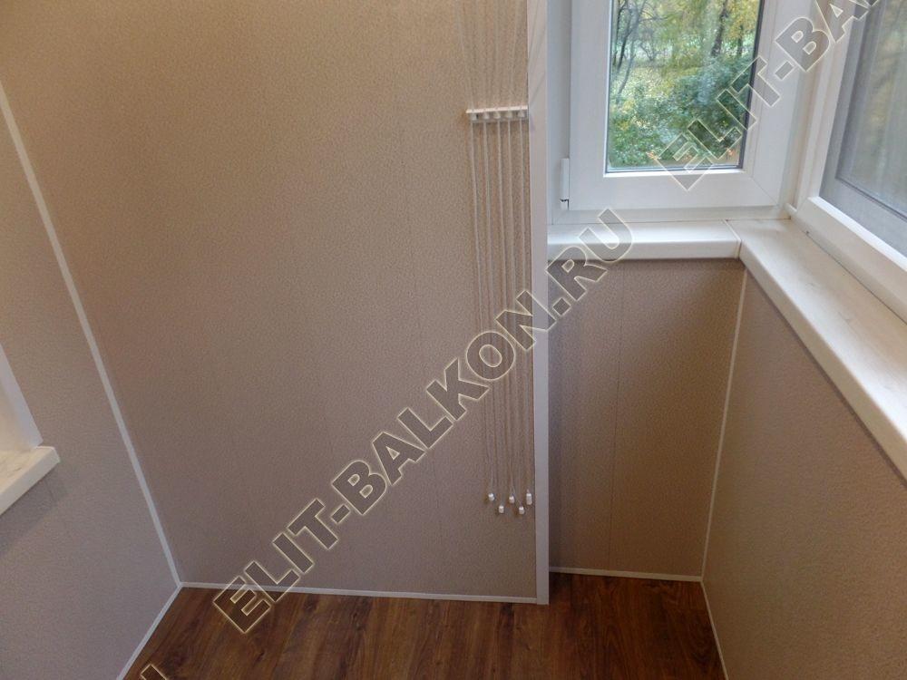osteklenie lodjii PVH vnutrennyaya otdelka shkaf22 - Ремонт балконов под ключ