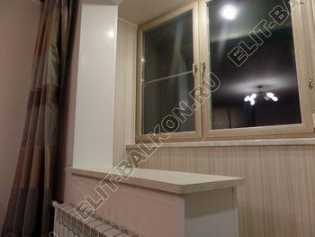 osteklenie lodzhii s vnutrennej otdelkoj obiedinenie s komnatoj teplyj pol10 387x291 - Фото остекления балкона № 43