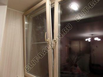 osteklenie lodzhii s vnutrennej otdelkoj obiedinenie s komnatoj teplyj pol4 387x291 - Фото остекления балкона № 43