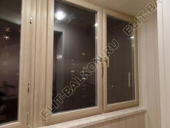 osteklenie lodzhii s vnutrennej otdelkoj obiedinenie s komnatoj teplyj pol5 387x291 - Фото остекления балкона № 43