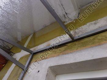 Balkon bez osteklenija krysha iz polikarbonata9 387x291 - Фото остекления балкона № 44