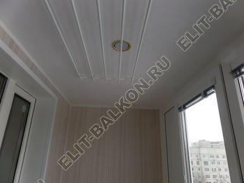 osteklenie lodzhii pvh otdelka osveschenie potolochnaja sushka1 387x291 - Фото остекления балкона № 46