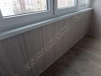 osteklenie lodzhii pvh otdelka osveschenie potolochnaja sushka11 387x291 - Фото остекления балкона № 46