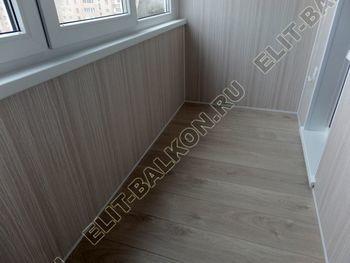osteklenie lodzhii pvh otdelka osveschenie potolochnaja sushka12 387x291 - Фото остекления балкона № 46