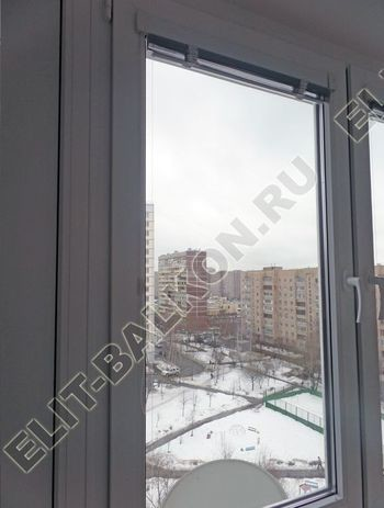 osteklenie lodzhii pvh otdelka osveschenie potolochnaja sushka13 387x291 - Фото остекления балкона № 46