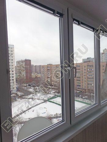 osteklenie lodzhii pvh otdelka osveschenie potolochnaja sushka14 387x291 - Фото остекления балкона № 46