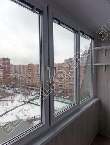 osteklenie lodzhii pvh otdelka osveschenie potolochnaja sushka15 387x291 - Фото остекления балкона № 46