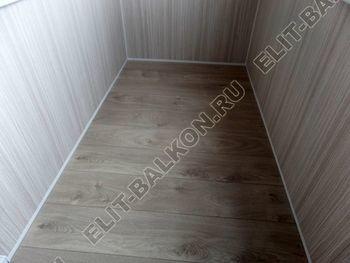 osteklenie lodzhii pvh otdelka osveschenie potolochnaja sushka17 387x291 - Фото остекления балкона № 46