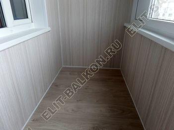 osteklenie lodzhii pvh otdelka osveschenie potolochnaja sushka18 387x291 - Фото остекления балкона № 46