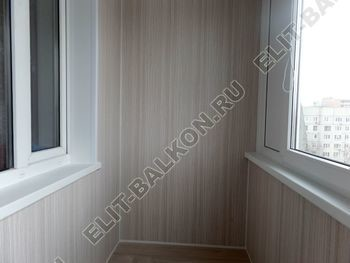 osteklenie lodzhii pvh otdelka osveschenie potolochnaja sushka19 387x291 - Фото остекления балкона № 46