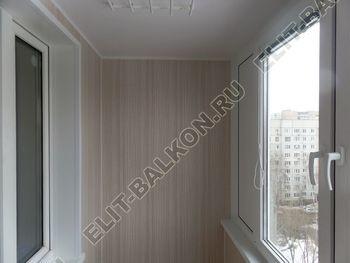 osteklenie lodzhii pvh otdelka osveschenie potolochnaja sushka2 387x291 - Фото остекления балкона № 46