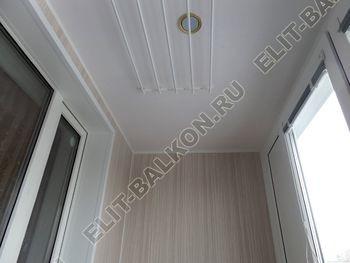 osteklenie lodzhii pvh otdelka osveschenie potolochnaja sushka20 387x291 - Фото остекления балкона № 46