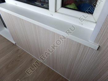 osteklenie lodzhii pvh otdelka osveschenie potolochnaja sushka21 387x291 - Фото остекления балкона № 46