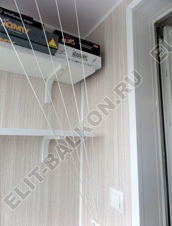 osteklenie lodzhii pvh otdelka osveschenie potolochnaja sushka22 387x291 - Фото остекления балкона № 46