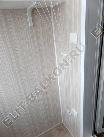 osteklenie lodzhii pvh otdelka osveschenie potolochnaja sushka23 387x291 - Фото остекления балкона № 46