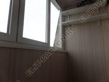 osteklenie lodzhii pvh otdelka osveschenie potolochnaja sushka24 387x291 - Фото остекления балкона № 46