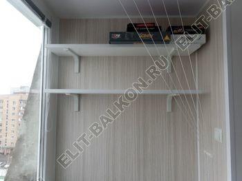 osteklenie lodzhii pvh otdelka osveschenie potolochnaja sushka26 387x291 - Фото остекления балкона № 46