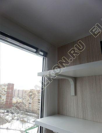 osteklenie lodzhii pvh otdelka osveschenie potolochnaja sushka27 387x291 - Фото остекления балкона № 46